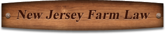 New Jersey Farm Law